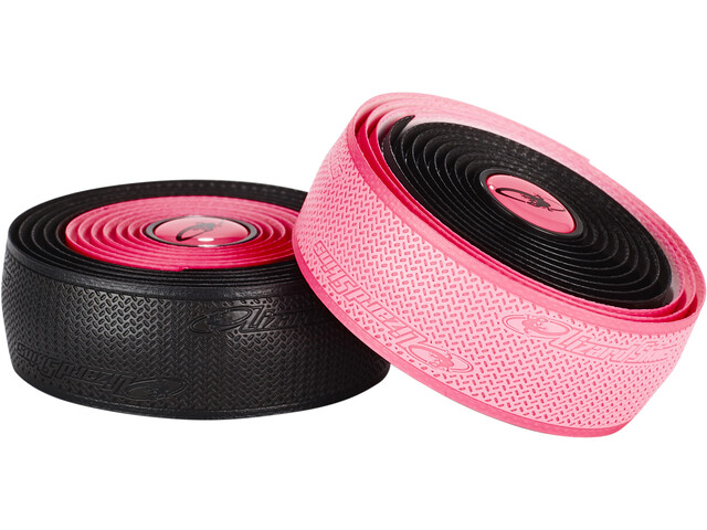 Lizard Skins DSP Dual Rubans de cintre 2,5mm, black/neon pink